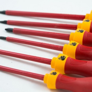 6 PCS VDE SCREWDRIVERS SET ELECTRICAN 1000V AC ND-0520