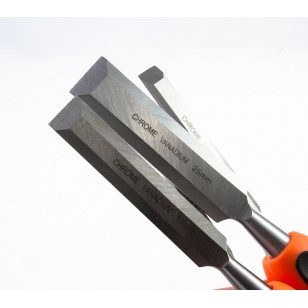 4PCS CHISELS SET Blade: 60# Cr ND-0210